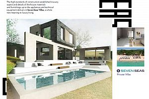 Luxury private house in Greece  Thassos.  Photo 3