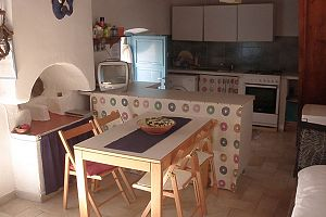 Traditional house, terrace with panoramic view, Tilos.  Photo 5