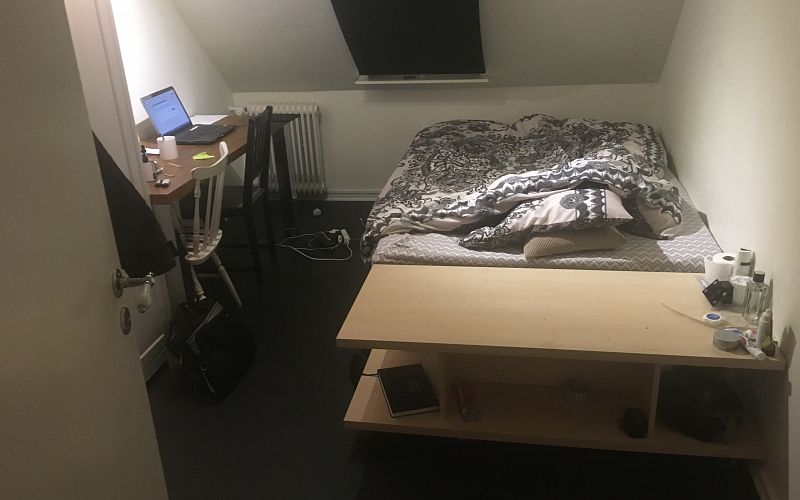 Small double room available in the heart of vejle. Photo 1